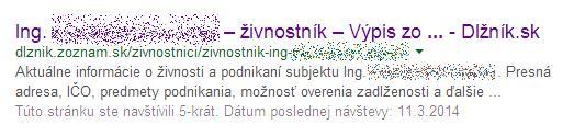 Internetove chrapunstvo - zoznam.sk, dlznik.sk Dlz